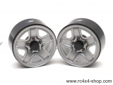 "1.9"" S200 Steelie Reversible Beadlock Wheels, 1 pár"
