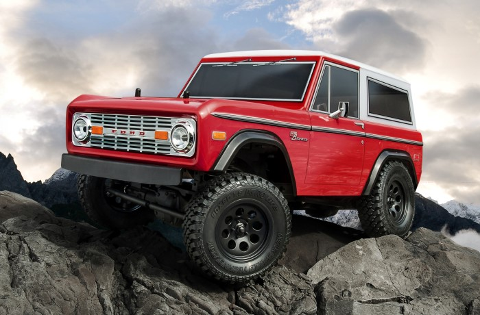 CMX Ford Bronco KIT + motor a ESC