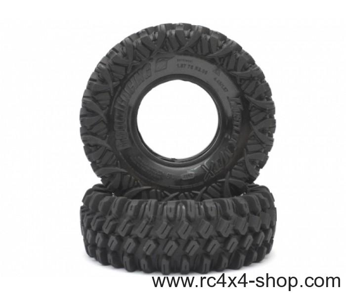1.9 HUSTLER M/T Xtreme Rock Crawling Tires (Super Soft) [Recon G6 Certified] (2)