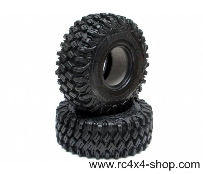 1.9 HUSTLER M/T Xtreme MC2 Rock Crawling Tires (Super Soft) [Recon G6 Certified] (2)