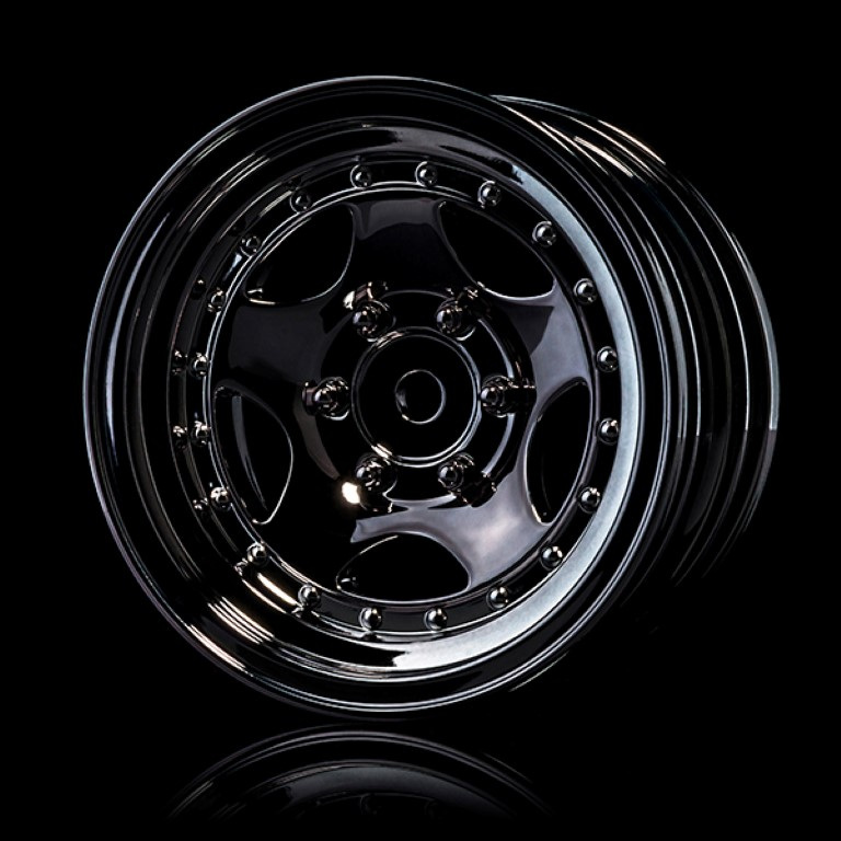 "230042SBK Silver black 236 1.9"" wheel (+5) (4)"