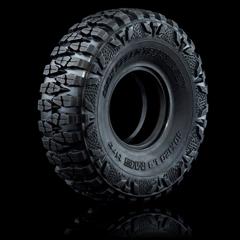 "101037 MG Crawler tire 40X120-1.9"" (2)"