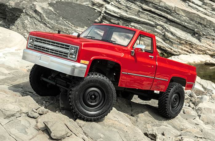 CMX C10 Pickup RED RTR