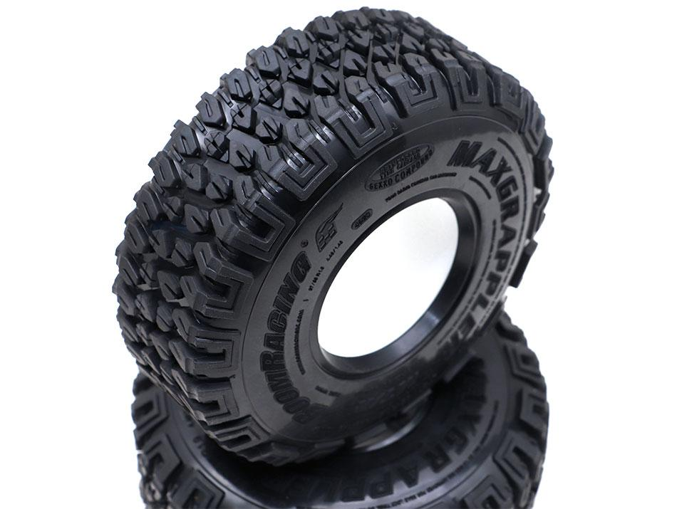 1.9 XL MAXGRAPPLER Scale RC Tire (113x37mm)(2)